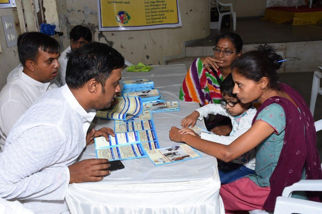 bandhani making | sadguru om rushi